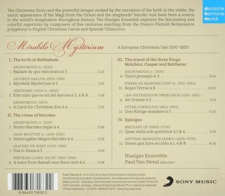 Mirabile mysterium : a European Christmas tale 1300-1850