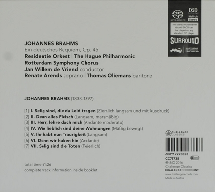 Ein deutsches Requiem, Op.45