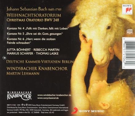 Weihnachtsoratorium : Kantaten IV-VI