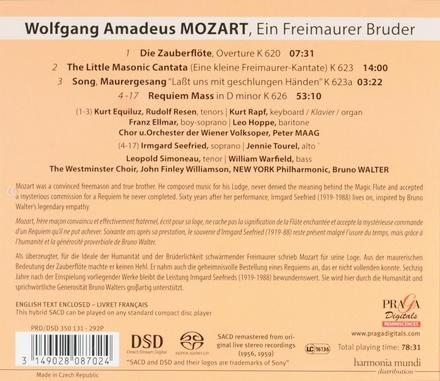 Mozart, last masonic works