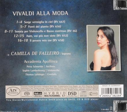 Vivaldi alla moda : Chambre cantatas