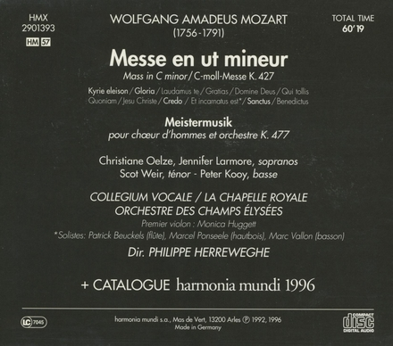 Meistermusik K.477