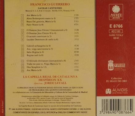 Sacrae cantiones : motecta 4, 5, 8 & 12 vocum