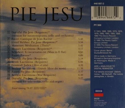 Pie Jesu : music of devotion