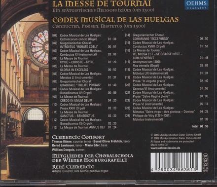 La messe de Tournai : ein spätgotisches Messoffizium (um 1300)