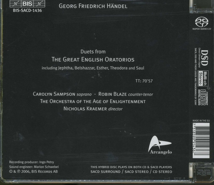 Great oratorio duets