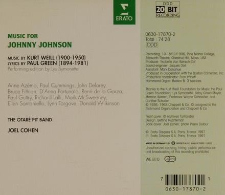 Music for Johnny Johnson