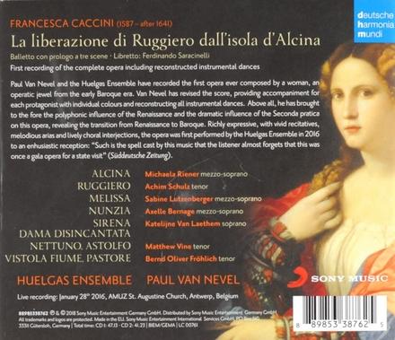 La liberazione di Ruggiero dall'isola d'Alcina