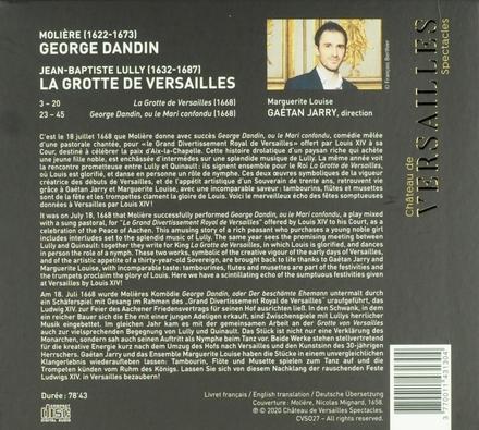George Dandin [et] La grotte de Versailles