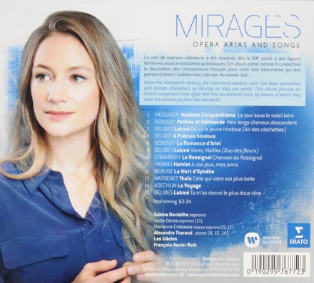 Mirages : opera arias and songs
