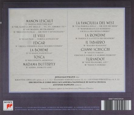 Nessun dorma : the Puccini album