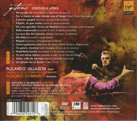 Gitano : Zarzuela arias