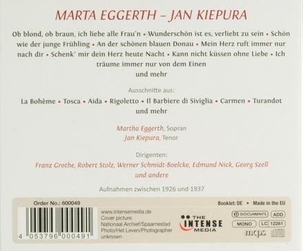 Das wahre Traumpaar : Martha Eggerth Jan Kiepura