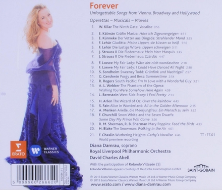 Forever : unforgettable songs from Vienna, Broadway and Hollywood