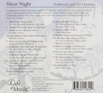 Silent night : Traditional carols for Christmas