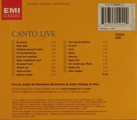 Canto live