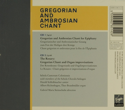 Gregorian and Ambrosian chant