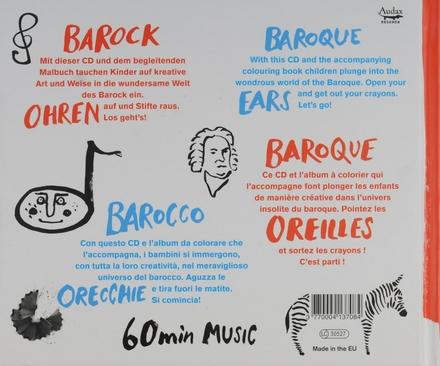 Barocco : Das kreative Malbuch für musikalische Kinder