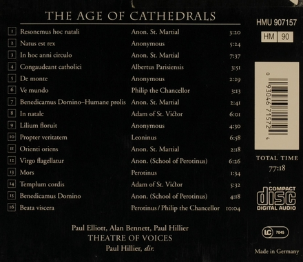 The age of cathedrals : music from the Magnus liber organi