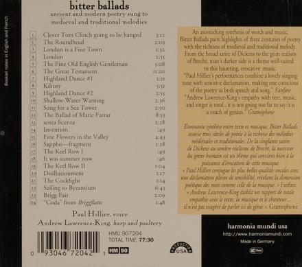 Bitter ballads