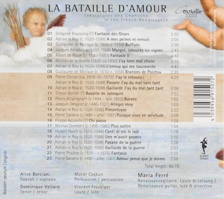 La bataille d'amour : Tabulatures and chansons in the French Renaissance