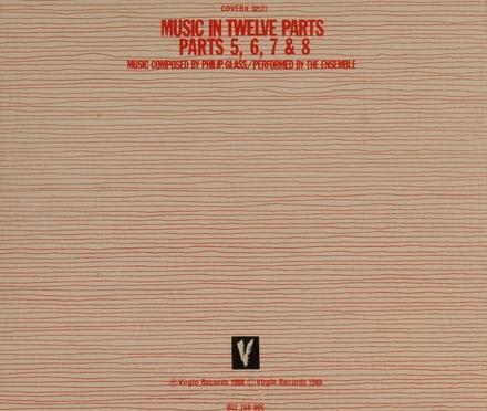 Music in twelve parts. Parts 5-8
