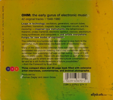 OHM : the early gurus of electronic music 1948-1980