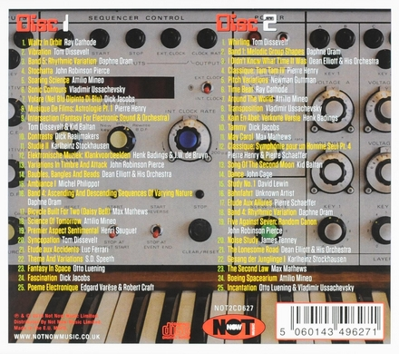 Electronic music : it started here... : 50 innovative tracks from the early electronic explorers