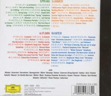 The four seasons : A musical calendar of favourite classics