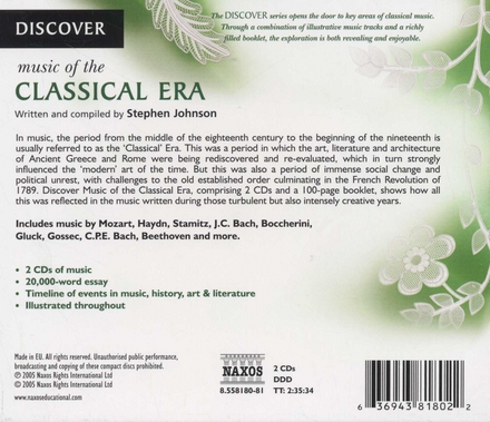 Discover : Music of the Classical era