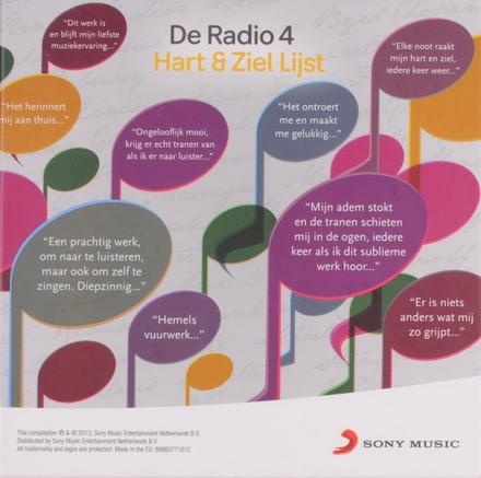 De Radio 4 hart & ziel lijst 2013 : 100 klassieke werken