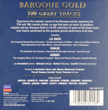Baroque gold : 100 great tracks