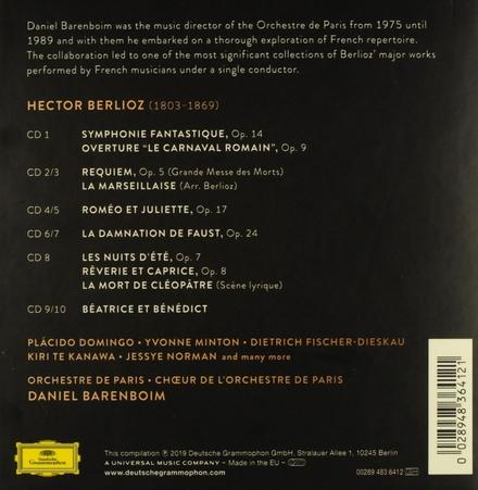Daniel Barenboim : Complete Berlioz recordings on Deutsche Grammophon