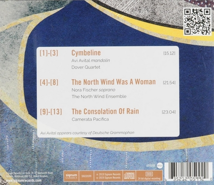 The north wind was a woman : Chamber works by David Bruce