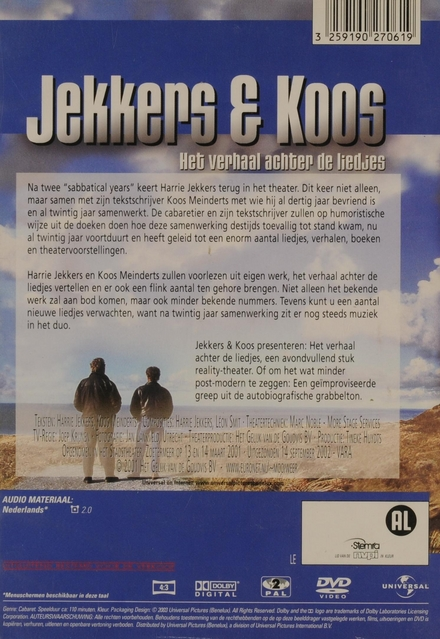 Jekkers & Koos : Het verhaal achter de liedjes