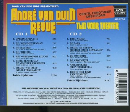 André van Duin Revue : Tijd voor theater