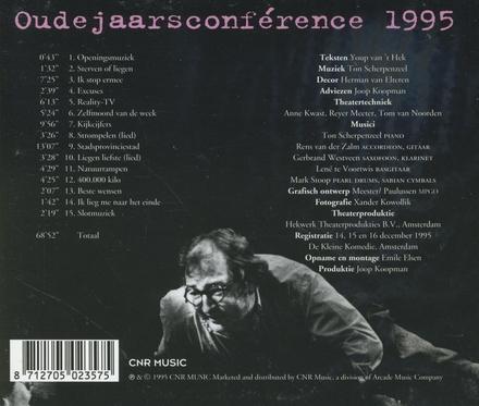 Oudejaars conference 1995