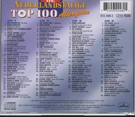 De Nederlandstalige top 100 allertijden