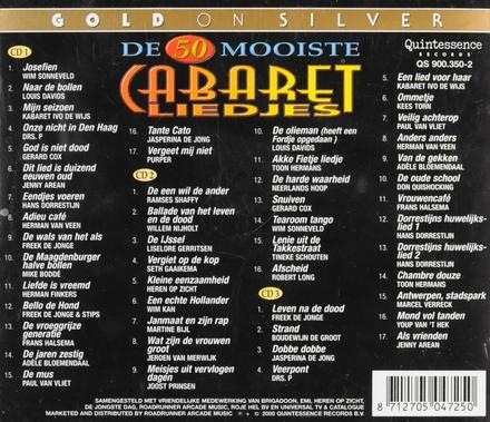 De 50 mooiste cabaret liedjes