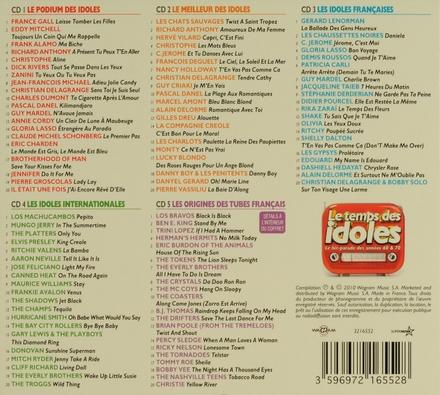 Le temps des idoles : Le hit-parade des années 60 & 70