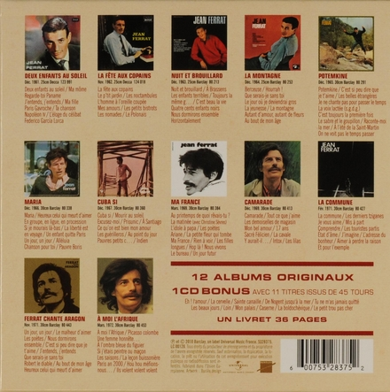 L'intégrale des enregistrements originaux Decca & Barclay 1961-1972