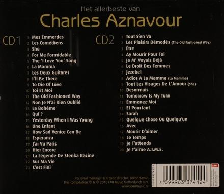 Het allerbeste van Charles Aznavour