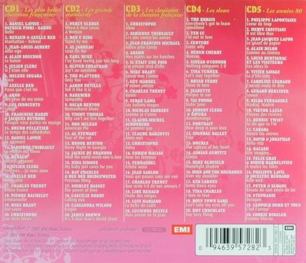 100 chansons d'amour