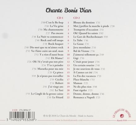 Chante Boris Vian
