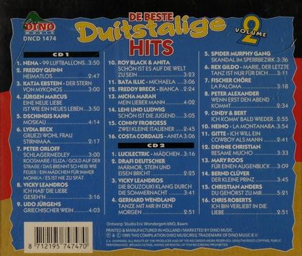 De beste Duitstalige hits. vol.2