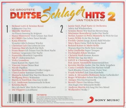 De grootste Duitse schlager hits van toen en nu. Vol. 2