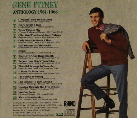 Anthology 1961-1968