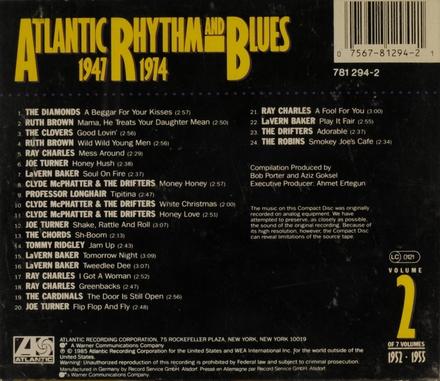 Atlantic r & b 1952-55. vol.2