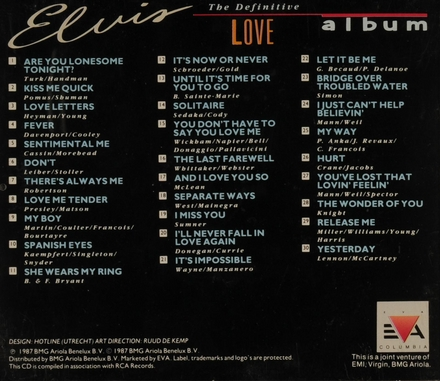 The definitive love album