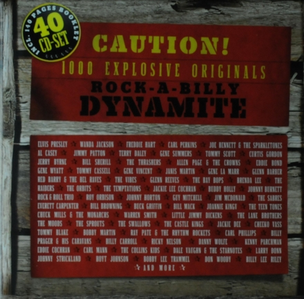 Rock-a-billy dynamite caution! : 1000 explosive originals
